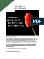 5 MITOS ACERCA DE LA TEOLOGÍA