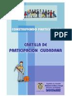 Cartilla Participacion Ciudadana Ingeominas
