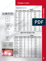 Halogen Lamps Pages 120 122