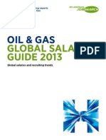 2013 Oil & Gas Global Salary Guide