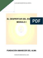 EL DESPERTAR DEL ESPÍRITU MODULO I