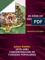 28 AÑOS DE DEMOCRACIA 2007