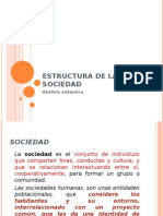 Estructura de La Sociedad