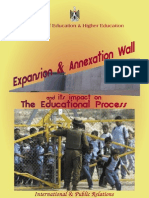 Israel Expansion, Occupation and Separation Wall
