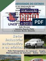 Setor Industrial Automotivo e Os Efeitos Da Atual