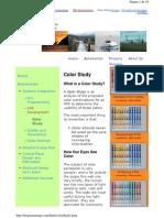 HMI Color Study - Frogstarenergy
