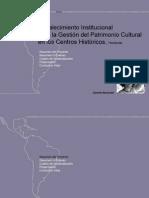 Programa Nacional Centros Históricos- Honduras