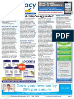 Pharmacy Daily for Wed 18 Sep 2013 - Guild claim \'exaggerated\', TWC welcomes Sclavos, Di-Gesic ruling blasted, Health