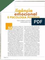 Inteligencia Emocional e Psicologia Positiva Por Fabio Appolinario