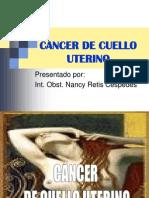 CÁNCER DE CUELLO UTERINO NANCY