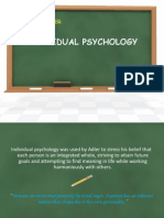 Adler individual psychology