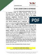 50 Formas de Lidar Com o Estresse - English