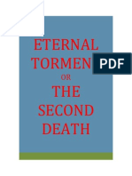 Eternal Torment Or The Second Death, The indictment Of Eternal Torment