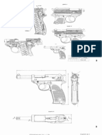 walther pistol partial blueprints