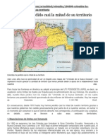 Colombia Perdida de Territorio