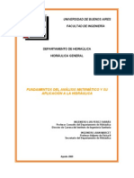 Analisis Matematico Hidraulica General VersionIII