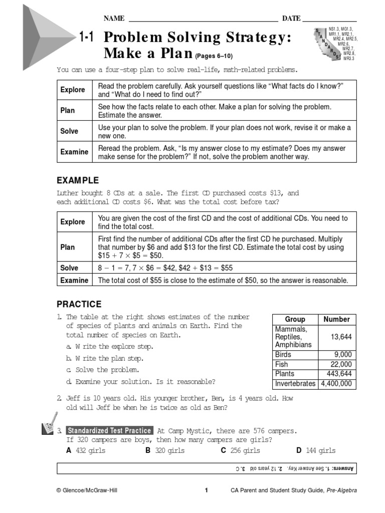 Glencoe mcgraw hill algebra 2 homework practice workbook answers