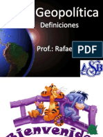 Tema 1 La Geopolitica Definiciones (1)