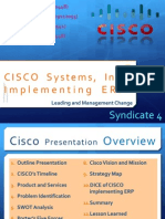 Syndicate 4 - CISCO Case