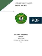 Dofi Indra Norpermadi 0909025007 Struktur Kayu Lanjut