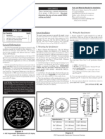 VDO Programmable Speedometer