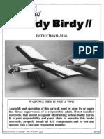 Sturdy Birdy II Manual