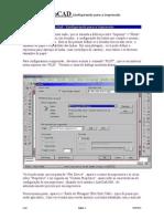 AutoCAD- Configurando para a Impressão