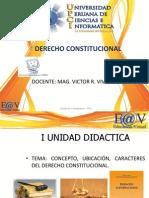 Primera Semana (Derecho Constitucional Upci)