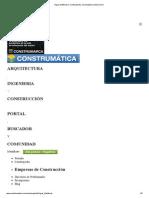 Vigas Metálicas _ Construpedia, enciclopedia construcción