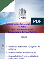 Reconstruccion Psicosocial y Promocion de Salud