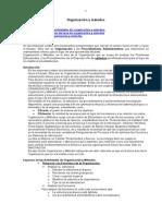 Organizacion y Metodos