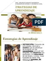 Unidad II a Estrategias de Aprendizaje Espel Ing Sistemas 2013