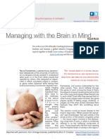 Managing With the Brain in Mind