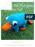 Pet Perry the Platypus Crochet
