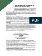 Reglamento de Construccion en Resumen de LC