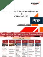IT Infrastructure @ Essar Oil Ltd.(ITIL)
