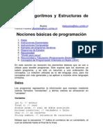 CC30A Algoritmos y Estructuras de Datos