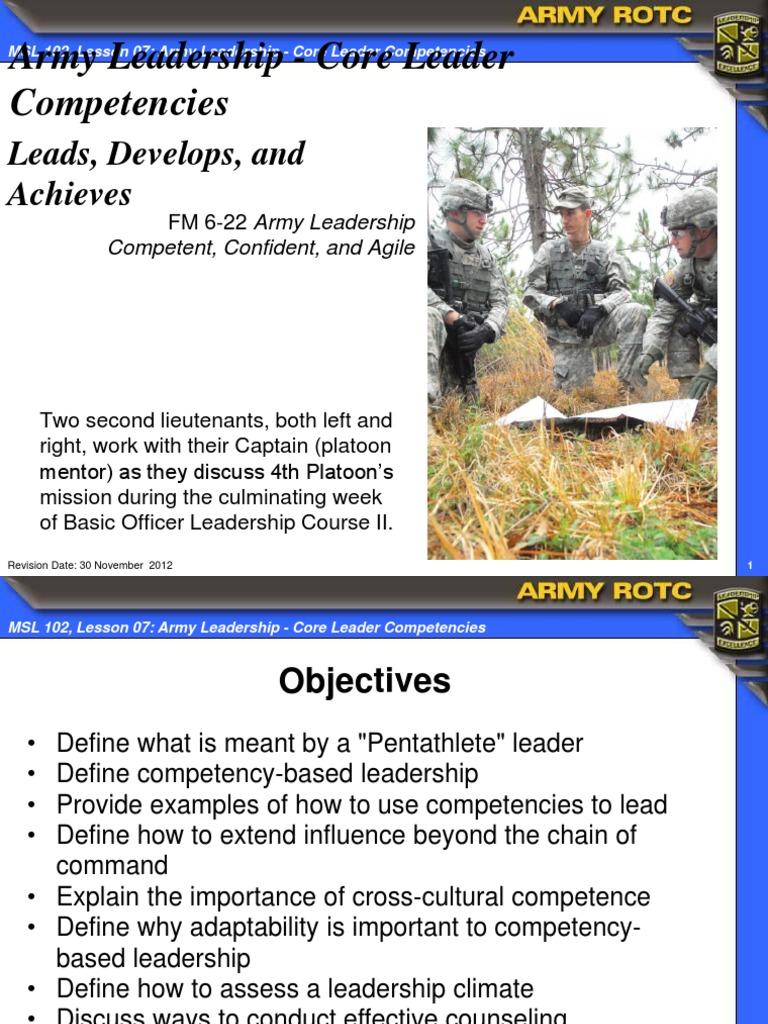 adaptive leadership examples