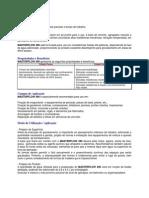 Ficha técnica Materflow 490