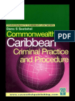 Commonwealth Caribbean Series Criminal Practice and Procedure