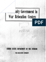 War Relocation Centers (1942)