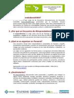 Información Convocatoria EmprendedoresEIMA