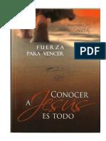 Conocer a Jesús es todo - Alejandro Bullon