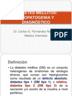 Dm Etiopatogenia y Dx