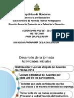 Presentacion Isntructivo de Aplicacion de Eval. 2013