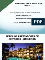 Perfiles de Personal Del Hotel