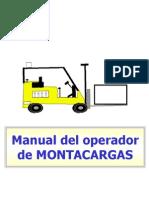90721947 Manual Del Operador de Montacargas