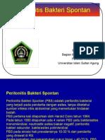 Peritonitis Bakteri Spontan