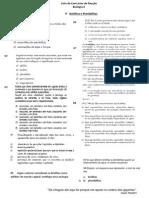 Exercício de fixação briófitas e pteridófitas