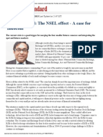 Rajnikant Patel - The NSEL Effect - A Case for 'Indocom' - BS